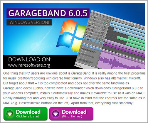Free download garageband for pc windows xp 7 8 - How to download garage band ...