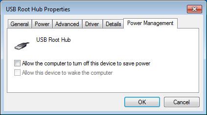 USB Hub Power Management