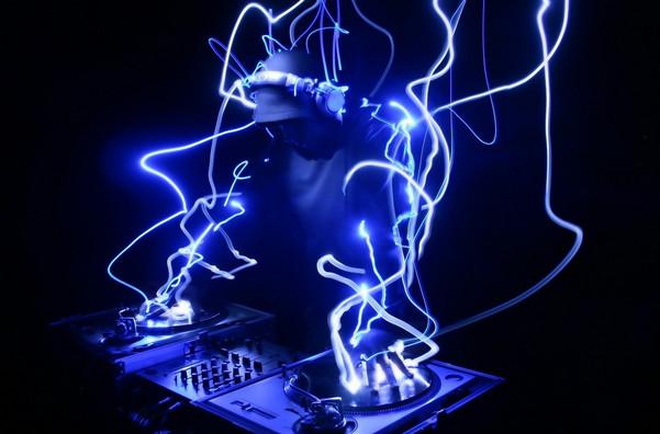 Blue Neon DJ