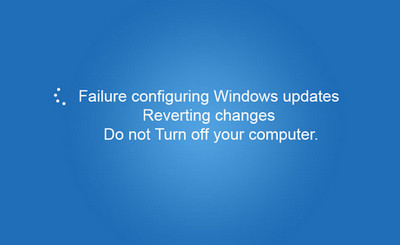 Windows Update Configuration Failure