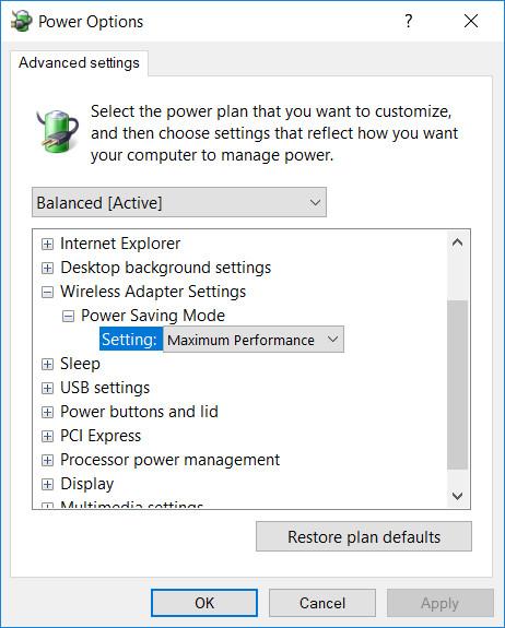 maximum performance wireless