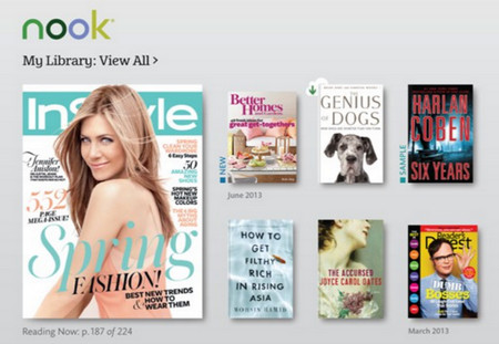Nook Epub Reader App