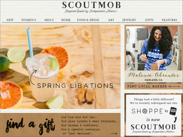 Scoutmob Deals on Gifts