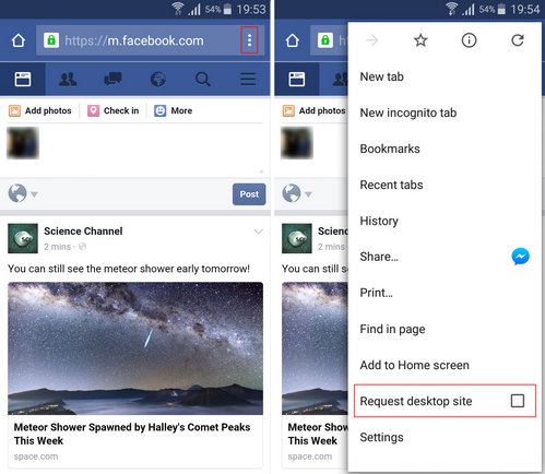 How To Access Facebook Full Site From Iphone Or Android
