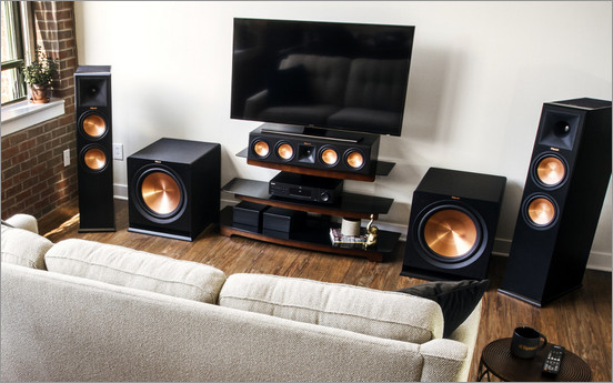 Powered Subwoofer Setup from Klipsch