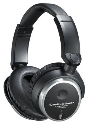 Audio-Technica QuietPoint Closed-Back Headphones