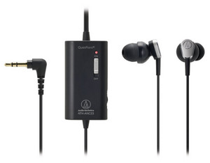 Audio-Technica ATH-ANC23 QuietPoint In-Ear Headphones
