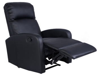 Giantex Black Manual Recliner Chair