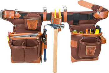 Occidental Leather 9855 Adjust-to-Fit Fat Lip Tool Bag Set