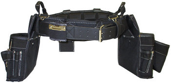 TradeGear Medium Electrician Combo Belt & Bags and Bag Combo Partnered with Gatorback Contractor Pro