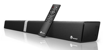 TaoTronics Sound Bar Wired and Wireless Bluetooth Audio (34-Inch Speaker, 2 Passive Radiators, Touch and Remote Control