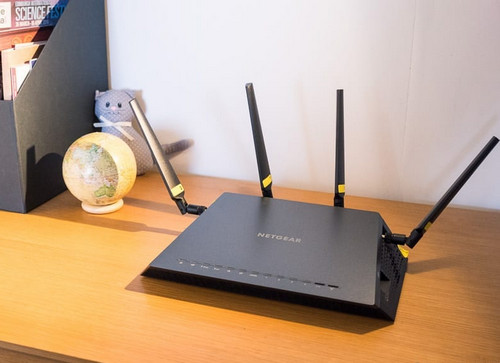 Netgear Router on a Table