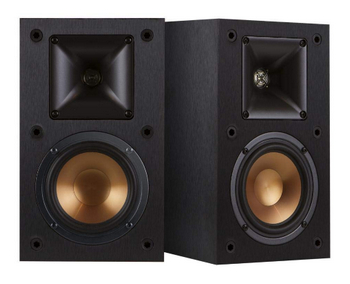 Klipsch R-14M 4-inch Reference Speaker Speakers (Pair, Black)
