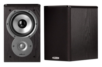Polk Audio TSi100 Shelf Speakers (Pair, Black)