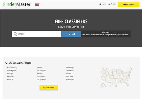 FinderMaster Website