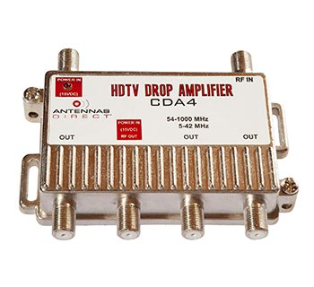 Antennas Direct CDA4 TV Distribution Amplifier