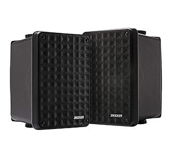 Kicker KB6 2-Way Full-Range Indoor Outdoor Speakers
