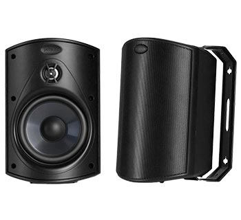 Polk Audio Atrium 5 Outdoor Speakers with Powerful Bass