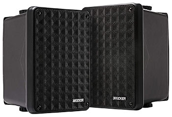 Kicker KB6 2-way Wall Mounted Speakers Speakers