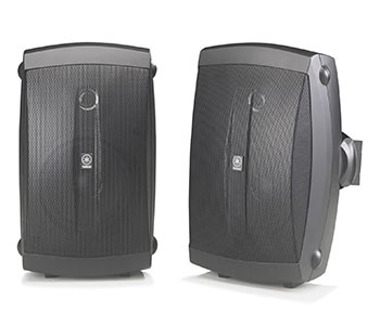 YAMAHA NS-AW150BL Indoor/Outdoor Speakers