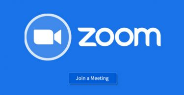 Zoom conference meeting during pandemic